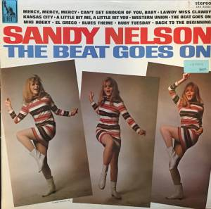 Cover - Sandy Nelson: Beat Goes On, The