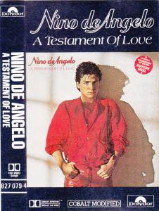 Cover - Nino de Angelo: Testament Of Love, A
