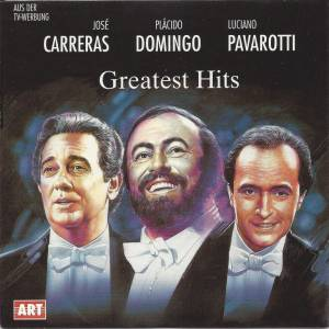 Cover - Agustín Lara: Carrera Domigo Pavarotti - Greatest Hits