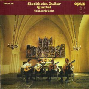 Stockholm Guitar Quartet - Transcriptions - Cover