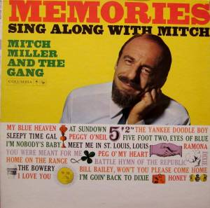 Cover - Mitch Miller & The Gang: Memories - Sing Along With Mitch