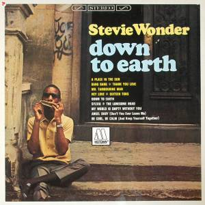Cover - Stevie Wonder: Down To Earth