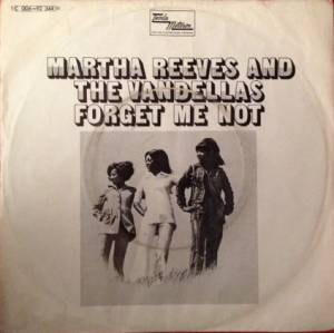 Cover - Martha Reeves & The Vandellas: Forget Me Not