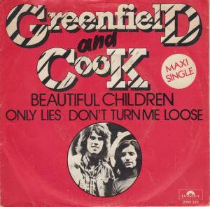 Cover - Greenfield And Cook: Beautiful Children