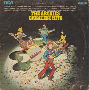 The Archies: Greatest Hits - Cover