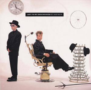 Pet Shop Boys: Left To My Own Devices - Cover