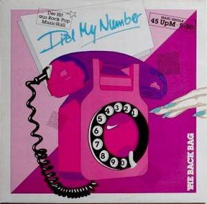 The Back Bag: Dial My Number - Cover