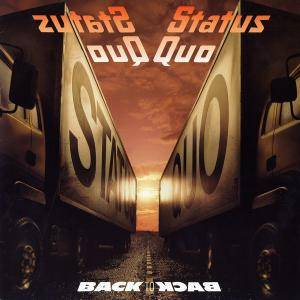 Status Quo: Back To Back - Cover