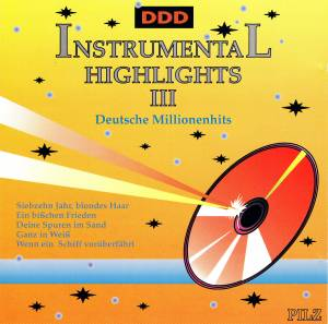 Cover - Ambros Seelos Orchester: Instrumental Highlights III