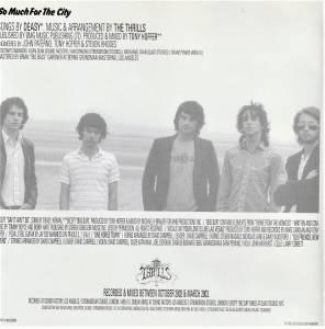 The Thrills: So Much For The City - CD (2003, Kopierschutz)