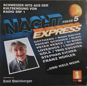 Cover - Harry Hasler: Nachtexpress Folge 5
