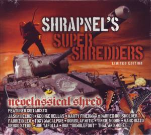 Cover - Borislav Mitic: Shrapnel's Super Shredders: Neoclassical Shred
