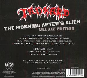 Tankard: The Morning After / Alien (CD + Mini-CD / EP) - Bild 2