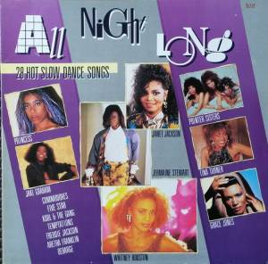Cover - René & Angela: All Night Long 28 Hot Slow Dance Songs
