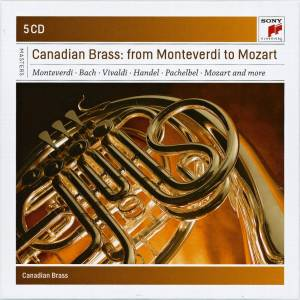 Cover - Anthony Holborne: Canadian Brass: From Monteverdi To Mozart