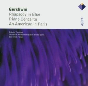 George Gershwin: Rhapsody In Blue / Piano Concerto / An American In Paris - Cover