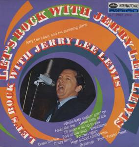 Cover - Jerry Lee Lewis: Let's Rock With Jerry Lee Lewis