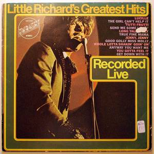 Cover - Little Richard: Little Richard's Greatest Hits - Recorded Live