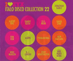 Cover - G.J. Lunghi: I Love ZYX Italo Disco Collection 22