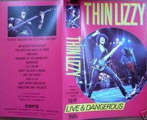 Thin Lizzy: Live & Dangerous - Cover