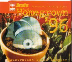 Cover - Margaret Urlich: Brashs - Homegrown '96
