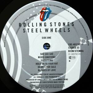 The Rolling Stones: Steel Wheels (LP) - Bild 5