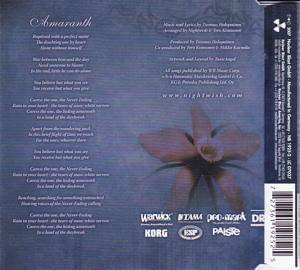 Nightwish: Amaranth (Single-CD) - Bild 2