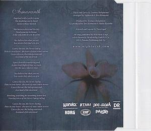 Nightwish: Amaranth (Single-CD) - Bild 4