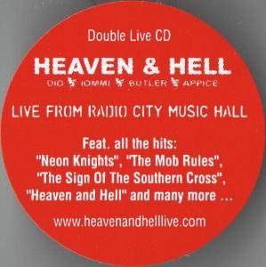 Heaven & Hell: Live From Radio City Music Hall (2-CD) - Bild 7