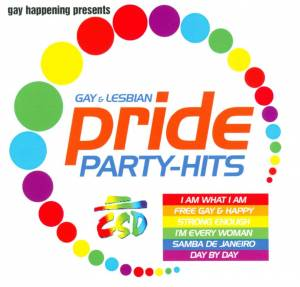 Cover - Disco Deejays: Gay Happening Present Pride Party Hits