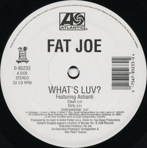"Fat Joe: What's Luv? / Definition Of A Don (12"") - Bild 2"