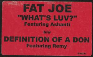 "Fat Joe: What's Luv? / Definition Of A Don (12"") - Bild 4"