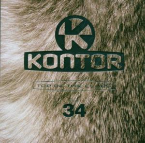 Kontor - Top Of The Clubs Vol. 34 - Cover