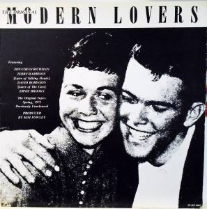Cover - Modern Lovers, The: Original Modern Lovers, The