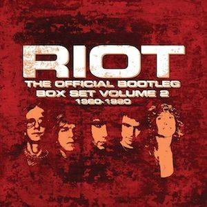 Cover - Riot: Official Bootleg Box Set Volume 2 – 1980-1990, The