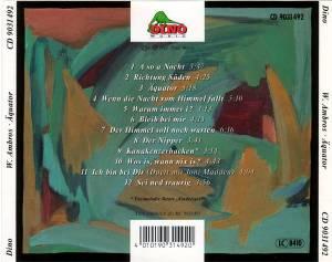 Wolfgang Ambros: Äquator (CD) - Bild 2