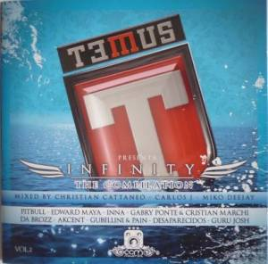 Cover - Edward Maya: T3mus Presenta: Infinity - The Compilation Vol. 2