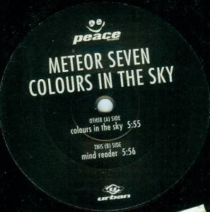 Cover - Meteor Seven: Colours In The Sky