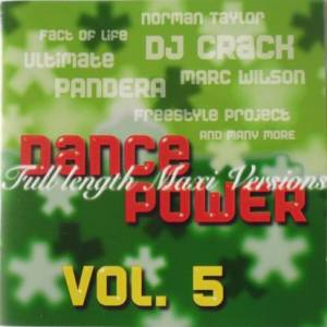 Cover - Freak Style: Dance Power Vol. 5