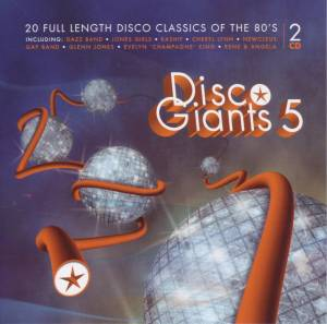 Cover - Glenn Jones: Disco Giants 5