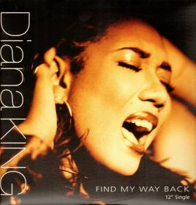 Cover - Diana King: Find My Way Back