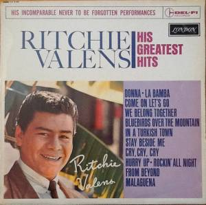 Cover - Ritchie Valens: His Greatest Hits