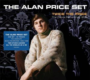 Alan Price: Twice The Price The Decca Recordings - Cover