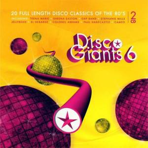 Cover - Elbow Bones And The Racketeers: Disco Giants 6