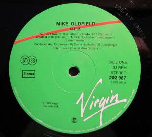 Mike Oldfield: Qe2 (LP) - Bild 3