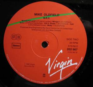 Mike Oldfield: Qe2 (LP) - Bild 4