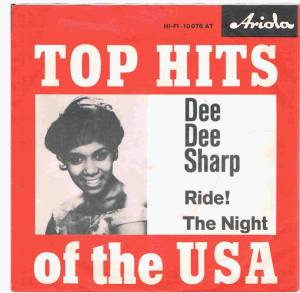 Cover - Dee Dee Sharp: Ride