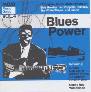 Music Guide Vol.4: Blues Power - 15 Original Tracks Made Famous By Elvis Presley, Led Zeppelin, Nirvana, The White Stripes And More! - Cover