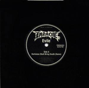 Cover - Evile: Darkness Shall Bring Death