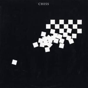 Benny Andersson, Tim Rice, Björn Ulvaeus: Chess - Cover